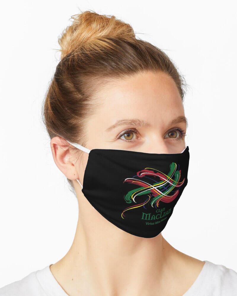 Scottish Tangled Tartan Clan Mask