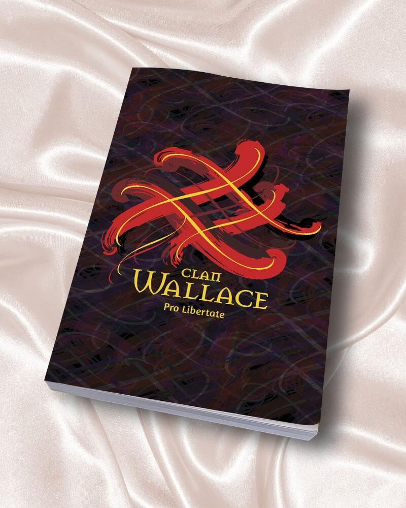 Clan Wallace Scotland Tangled Tartan Journal